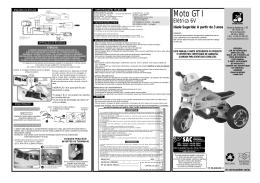 Moto GT I - Brinquedos Bandeirante
