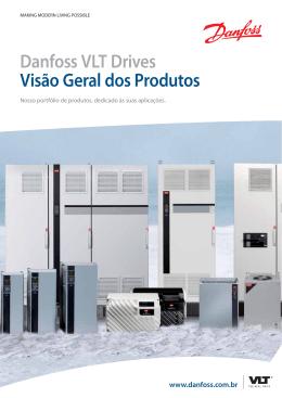 Danfoss VLT Drives Visão Geral dos Produtos