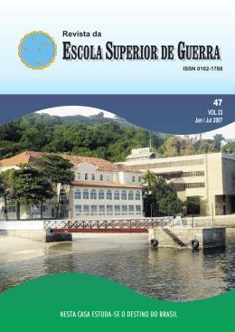 Revista da ESCOLA SUPERIOR DE GUERRA