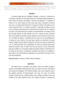 MAGALHÃES, Yuri de Andrade. O Complexo de