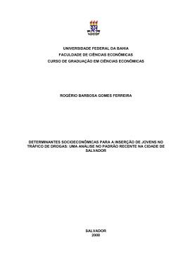 tcc rogério barbosa gomes ferreira - RI UFBA