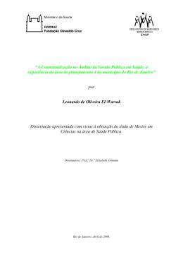 Leonardo de Oliveira El-Warrak - Arca