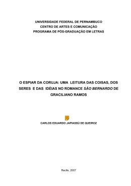 universidade federal de pernambuco - Programa de Pós