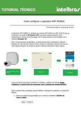Como configurar o aplicativo AMT MOBILE