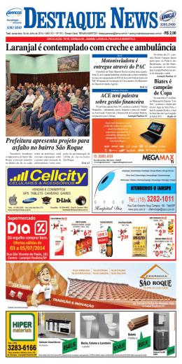 Baixar edição - jornaldestaquenews.com.br