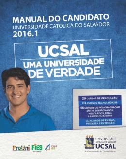 MANUAL DO CANDIDATO 2016.1