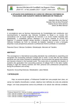 Artigo Completo - FJAV – Faculdade José Augusto Vieira