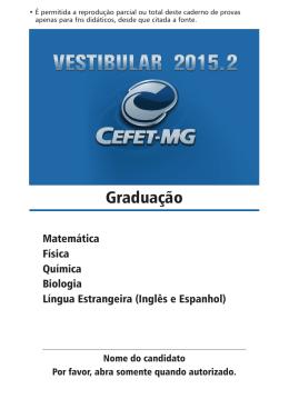 Cefet-MG 2015-2