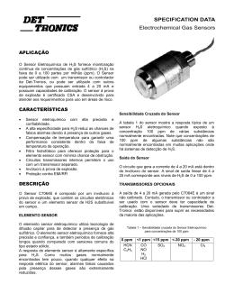 sensor H2S - kidde.com.br