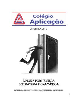 língua portuguesa literatura e gramática
