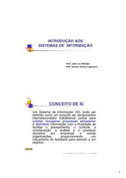 SII01-0-Introdução aos Sistemas de Informação [Modo de