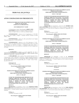 Word Pro - 13082007.lwp - Tribunal de Justiça do Espírito Santo