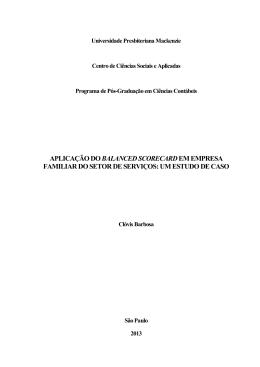 Clovis Barbosa - Universidade Presbiteriana Mackenzie