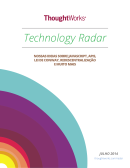 Technology Radar