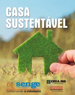 CARTILHA CASA SUSTENTÁVEL • 1 - Senge-MG