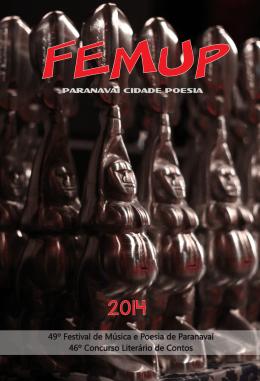 Antologia 49º Femup – 2014 - Fundação Cultural de Paranavaí