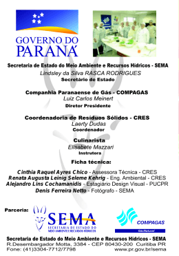 1 - Instituto Ambiental do Paraná
