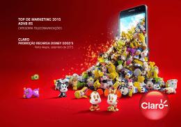 Promoção Recarga Disney Gogo`s