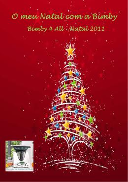O meu Natal com a Bimby 2011