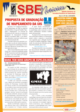 SBE Notícias nº144