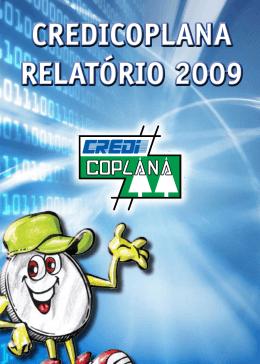 credicoplana relatório 2009 credicoplana relatório 2009