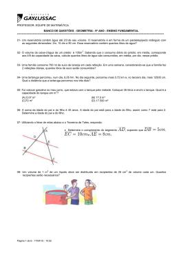 Geometria - 9o Ano - 1a etapa