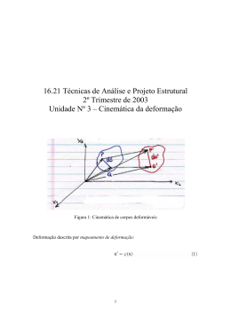 16.21 Técnicas de Análise e Projeto Estrutural 2º Trimestre de