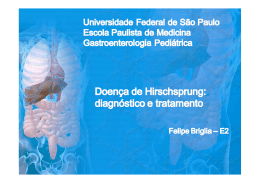 Doença de Hirschsprung - The Eletronic Journal of Pediatric