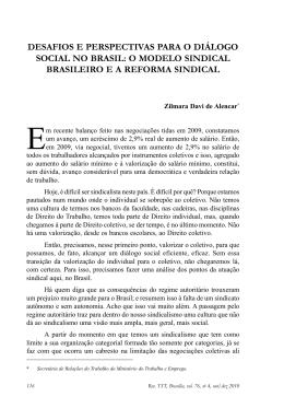 ALENCAR, Zilmara Davi de. Desafios e perspectivas para o