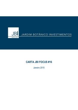 CARTA JBI FOCUS #16