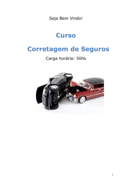 Do Seguro - Cursos Online SP