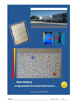 calendário escolar 2012-2013 - Agrupamento de Escolas André
