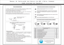 Manual Bocais Ralos e Grelhas