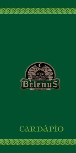CARDÁPIO - BELENUS IRISH PUB