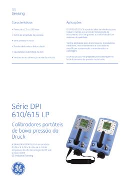 Série DPI 610/615 LP