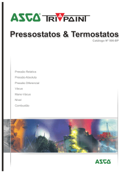 Pressostatos & Termostatos