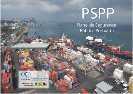 PSPP - Plano de Segurança Pública Portuária