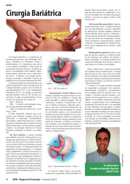 Cirurgia bariátrica. Dr. Juliano Barra