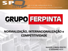 Manuel Correia Peixoto - FERPINTA