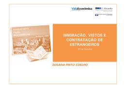 Imigração, Vistos e Contratação de Estrangeiros