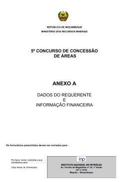 Application Form - Appendix A