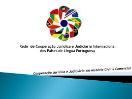 CPLP 2 - Rede de Cooperação Judiciária