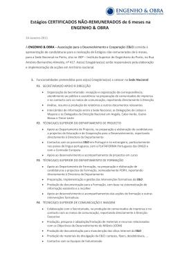 Teste de Título - Plataforma Portuguesa das ONGD