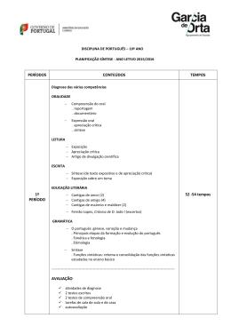 ESCOLA SECUNDÁRIA COM 3 - Agrupamento de Escolas Garcia