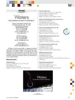 WATERS - Revista Analytica