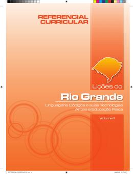 Lições do Rio Grande - Referencial Curricular
