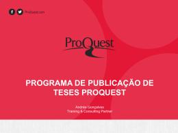 apresentação - ProQuest International News