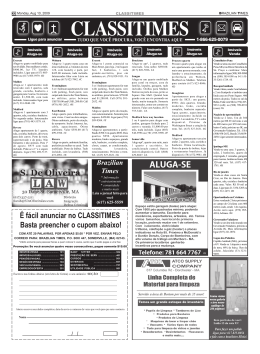 CLASSI 1785 - Brazilian Times