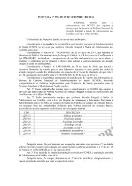 PORTARIA Nº 973, DE 29 DE SETEMBRO DE