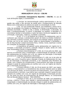 175 - Secretaria Estadual da Saúde do Rio Grande do Sul